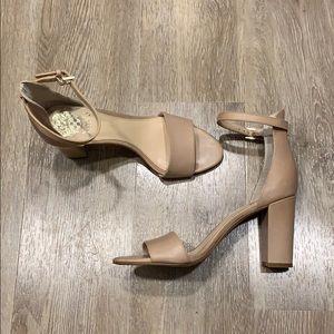 Vince Camuto Yaro ankle strap block heel sandals